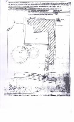 Siddha Aangan Phase III Mayur And Saras (2BHK+2T (677.05 sq ft) Apartment 677.05 sq ft)