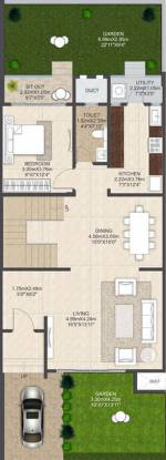Mahindra Bloomdale Row House 11 55 To 60 (3BHK+3T (1,508.02 sq ft) Villa 1508.02 sq ft)