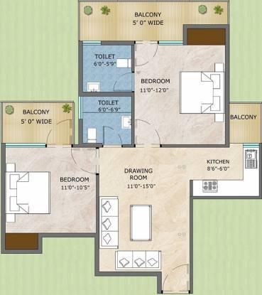 Adore Samriddhi (2BHK+2T (570 sq ft) Apartment 570 sq ft)