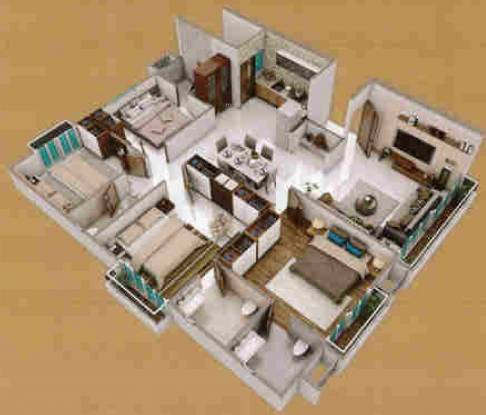 Sundaram Residency (4BHK+4T (2,351 sq ft) Apartment 2351 sq ft)