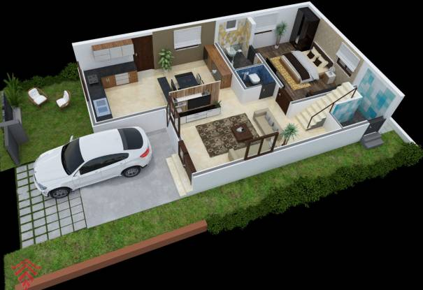 Victoria Greens (3BHK+3T (2,250 sq ft) Villa 2250 sq ft)