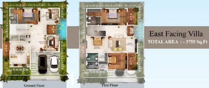 PVR Urban Life (4BHK+4T (3,755 sq ft) Villa 3755 sq ft)