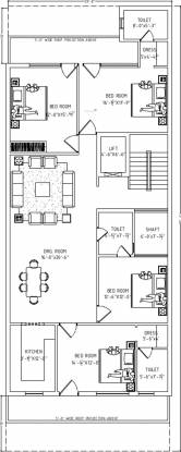 Lord Krishna Royal Floors 1 (4BHK+3T (2,100 sq ft) Apartment 2100 sq ft)