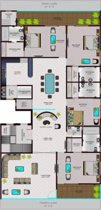 Lord Krishna Royal Floors (4BHK+4T (3,200 sq ft) + Pooja Room Apartment 3200 sq ft)