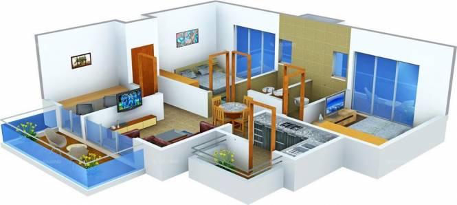 Batra Affordable Homes (2BHK+2T (450 sq ft) Apartment 450 sq ft)
