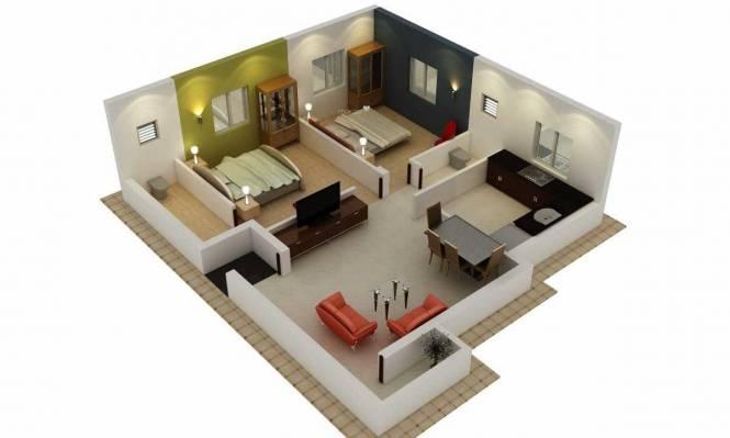 Avittam Sekkizhar (2BHK+2T (885 sq ft) Apartment 885 sq ft)