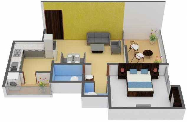 Venkatesh Navita (1BHK+1T (485 sq ft) Apartment 485 sq ft)