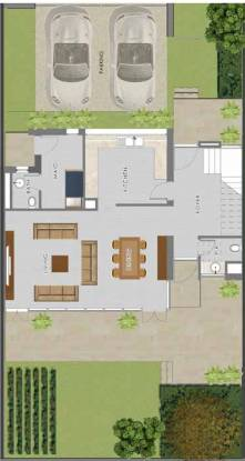 Damac Park Villas Pelham (3BHK+3T (2,423.78 sq ft) + Servant Room Villa 2423.78 sq ft)