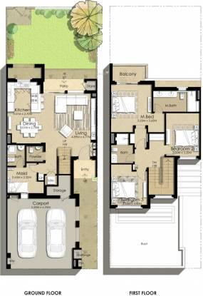 Nshama Sama Townhouses (3BHK+3T (2,216.72 sq ft) + Servant Room Villa 2216.72 sq ft)