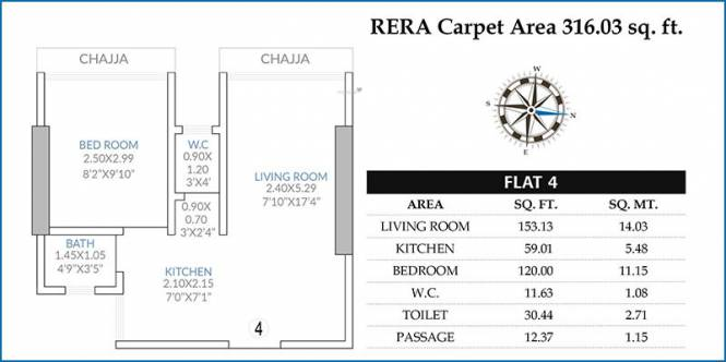 V K LAL VKLAL VISHNU PHASE I (1BHK+1T (316.03 sq ft) Apartment 316.03 sq ft)
