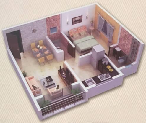 Bhav Residency (1BHK+1T (539 sq ft) Apartment 539 sq ft)