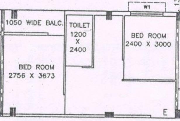 D B Bhagawati Apartment (2BHK+1T (580 sq ft) Apartment 580 sq ft)