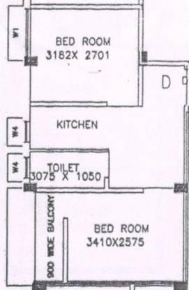 D B Bhagawati Apartment (2BHK+1T (515 sq ft) Apartment 515 sq ft)