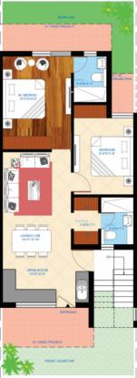 KN Colonisers Pvt Ltd Anand Vatika (2BHK+2T (825 sq ft) Apartment 825 sq ft)