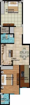 Balaji Homes (2BHK+2T (650 sq ft) Apartment 650 sq ft)