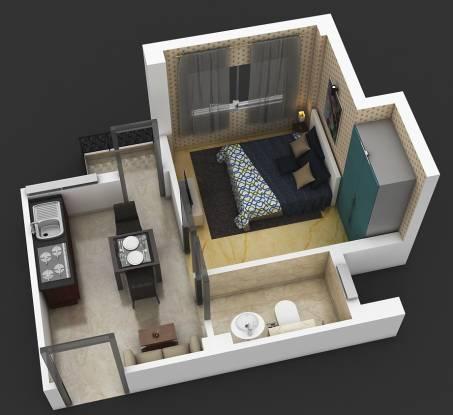 Dharitri Webcity (1BHK+1T (350 sq ft) Apartment 350 sq ft)