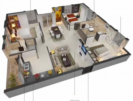 Sri Fortune Habitat (3BHK+3T (1,585.52 sq ft) Apartment 1585.52 sq ft)
