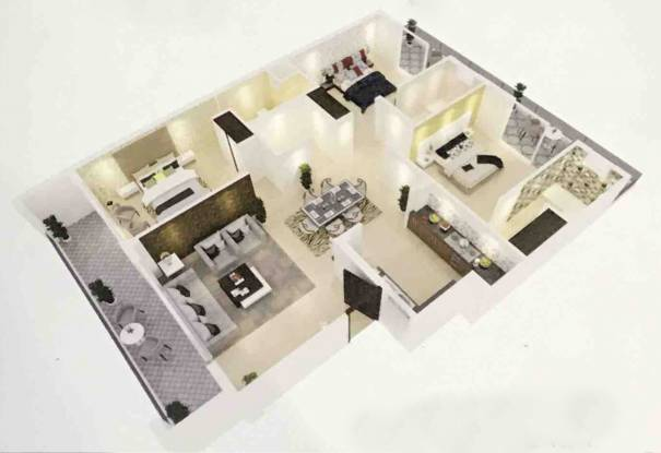 Joy Homes Phase III Plot No F170 And F171 (3BHK+3T (1,282.20 sq ft) Apartment 1282.2 sq ft)