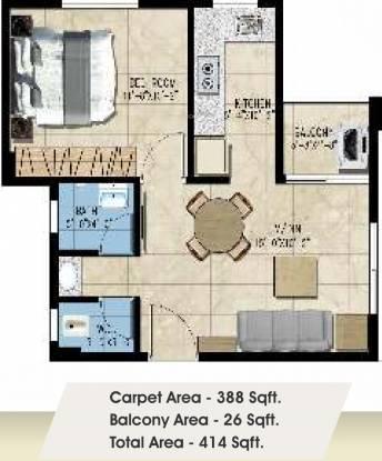 Avinash Vatika (1BHK+1T (387.50 sq ft) Apartment 387.5 sq ft)
