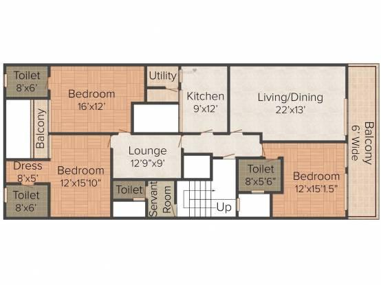 Navgrow Home 1 (4BHK+4T (3,060 sq ft) Apartment 3060 sq ft)